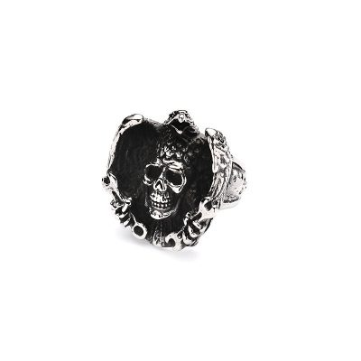 SJZ-0072 Stainless Steel Vintage Style ring