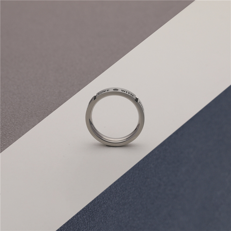 CHURINGASJZ-0167 Stainless Steel Blank Rings