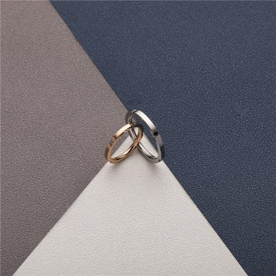 CHURINGASJZ-0168 Stainless Steel Blank Rings
