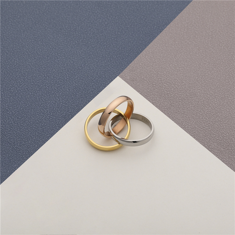 CHURINGASJZ-0169 Stainless Steel Blank Rings