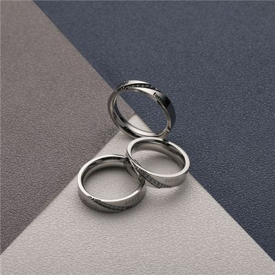 CHURINGASJZ-0170 Stainless Steel Blank Rings