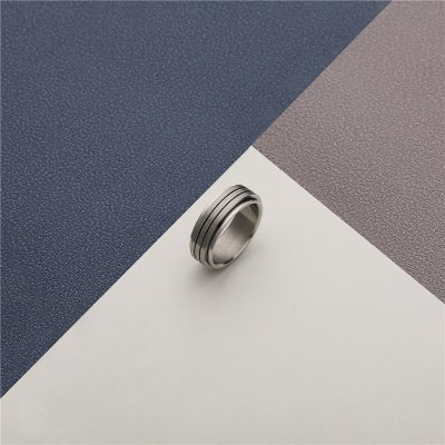 CHURINGASJZ-0171 Stainless Steel Blank Rings