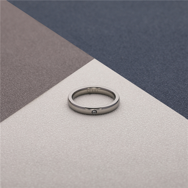 CHURINGASJZ-0172 Stainless Steel Blank Rings