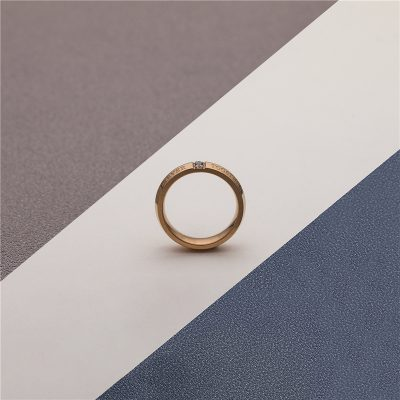 CHURINGASJZ-0174 Stainless Steel Blank Rings