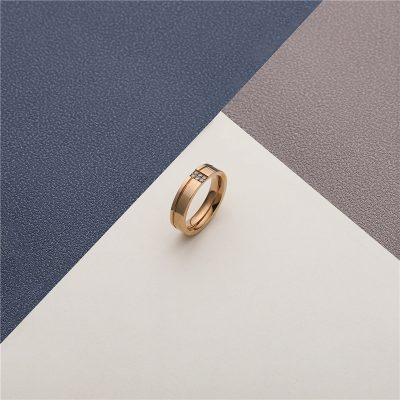 CHURINGASJZ-0175 Stainless Steel Blank Rings