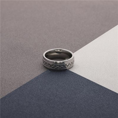 CHURINGASJZ-0176 Stainless Steel Blank Rings