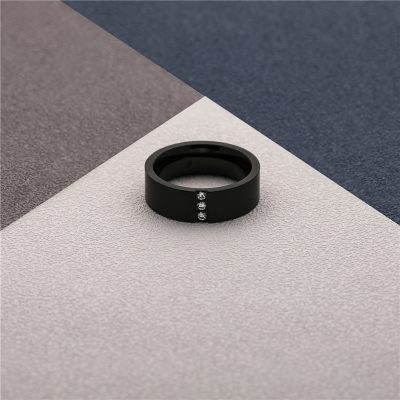 CHURINGASJZ-0177 Stainless Steel Blank Rings
