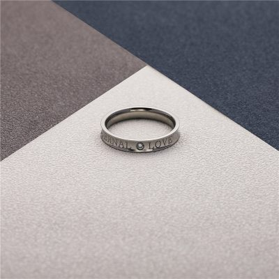CHURINGASJZ-0178 Stainless Steel Blank Rings