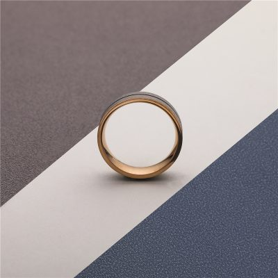CHURINGASJZ-0179 Stainless Steel Blank Rings