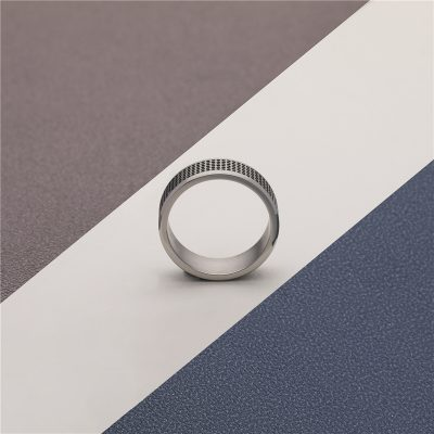 CHURINGASJZ-0180 Stainless Steel Blank Rings