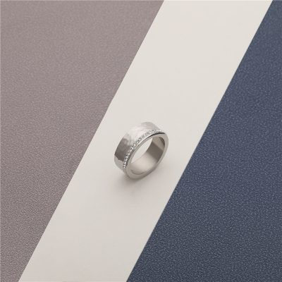 CHURINGASJZ-0181 Stainless Steel Blank Rings