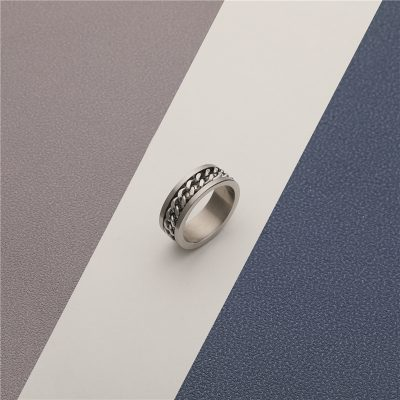CHURINGASJZ-0182 Stainless Steel Blank Rings
