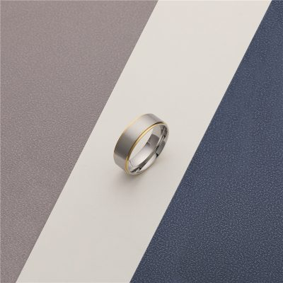 CHURINGASJZ-0183 Stainless Steel Blank Rings