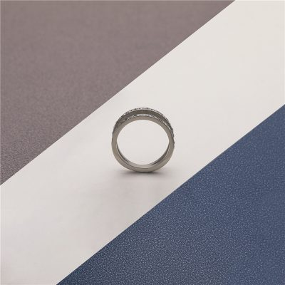 CHURINGASJZ-0184 Stainless Steel Blank Rings