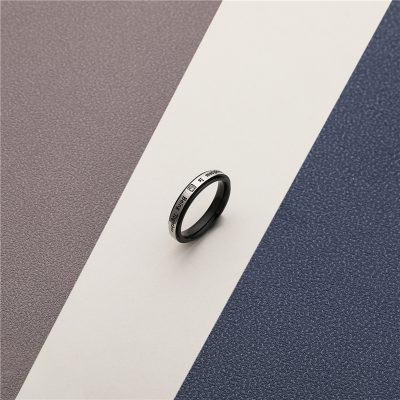 CHURINGASJZ-0185 Stainless Steel Blank Rings