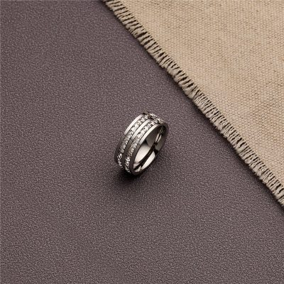 CHURINGASJZ-0186 Stainless Steel Blank Rings