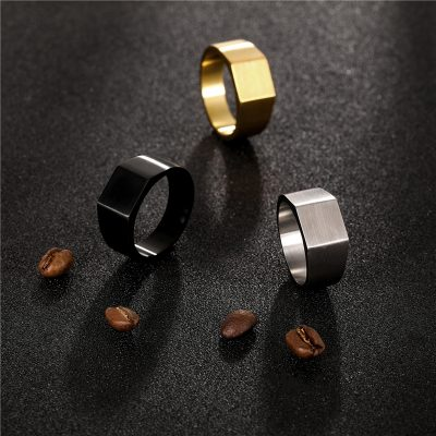 CHURINGASJZ-0188 Stainless Steel Blank Rings