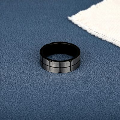 CHURINGASJZ-0189 Stainless Steel Blank Rings
