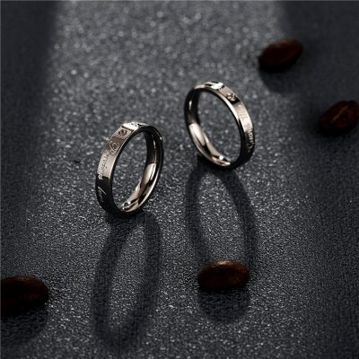 CHURINGASJZ-0190 Stainless Steel Blank Rings