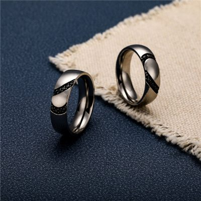 CHURINGASJZ-0191 Stainless Steel Blank Rings