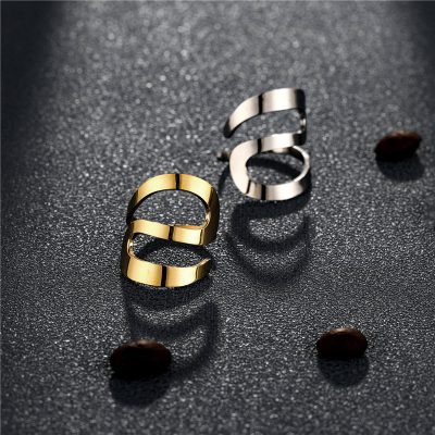 CHURINGASJZ-0192 Stainless Steel Blank Rings