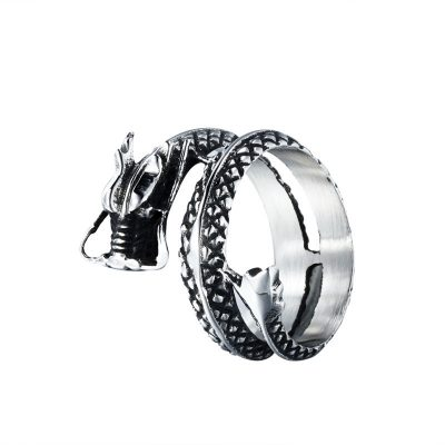 CHURINGASJZ-0017 Stainless Steel Dragon Rings