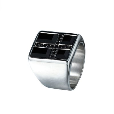 CHURINGASJZ-0020 Stainless Steel Norse Wedding Bands