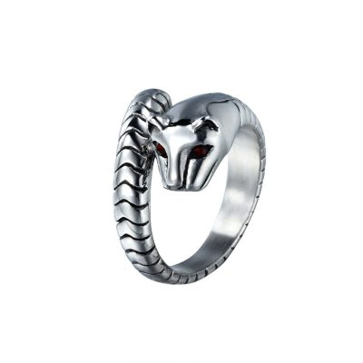 CHURINGASJZ-0030 Stainless Steel Cat Rings