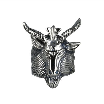 CHURINGASJZ-0057 Stainless Steel Goat Ring