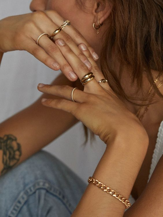 Gold Plated Stainless Steel Jewelry
